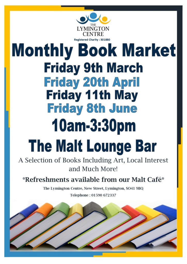 Book sale @ The Lymington Centre | England | United Kingdom