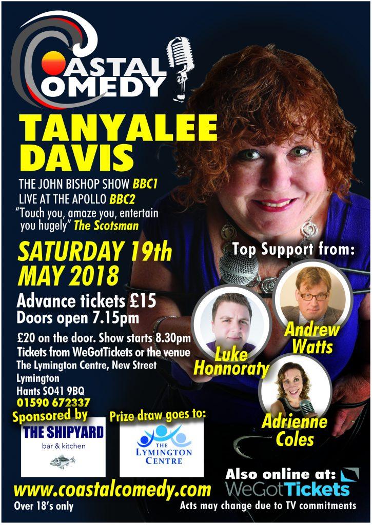 Coastal Comedy @ The Lymington Centre | England | United Kingdom