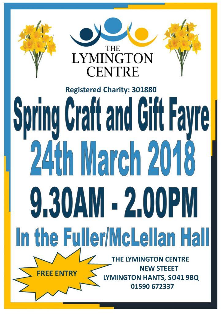 Spring Craft and Gift Fayre @ Fuller/ McLellan Hall | England | United Kingdom