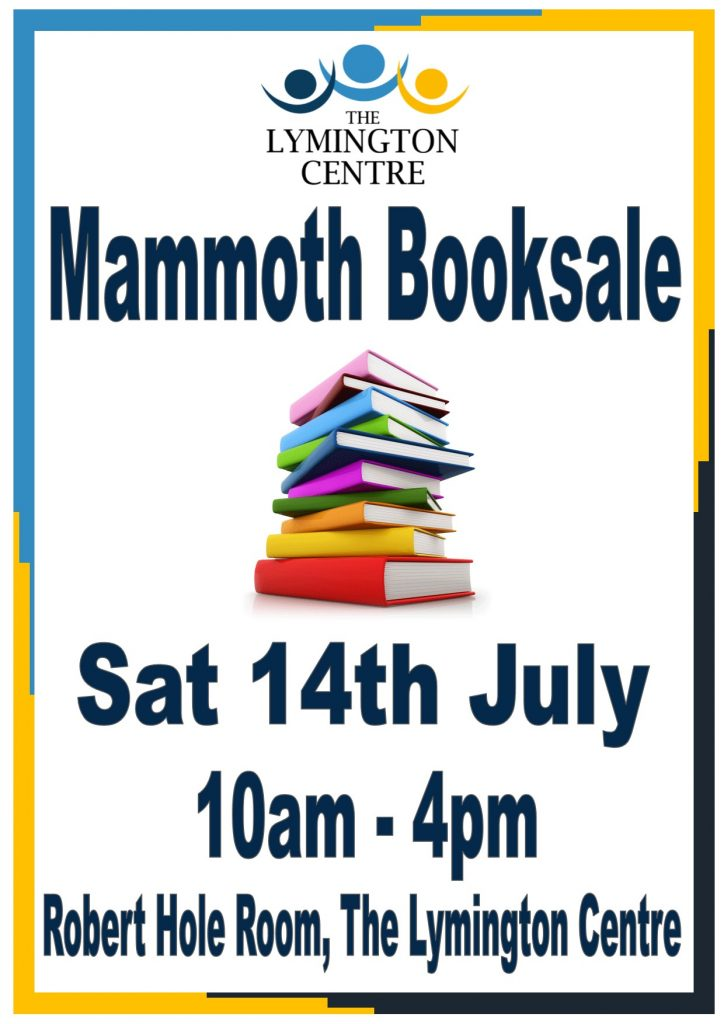 Mammoth Book sale @ Robert Hole Room, The Lymington Centre | England | United Kingdom