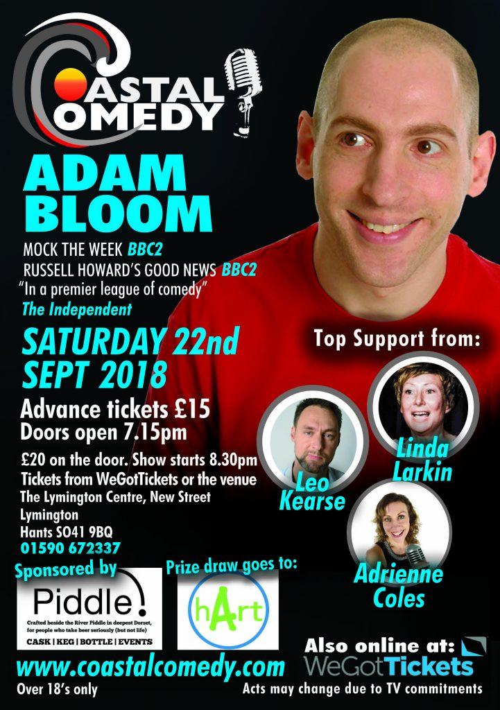 Coastal Comedy at The Lymington Centre @ The Lymington Centre | England | United Kingdom