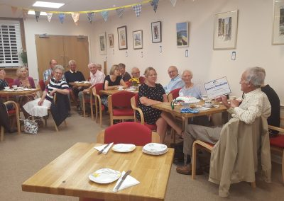 90th Birthday party for one of our long standing volunteers