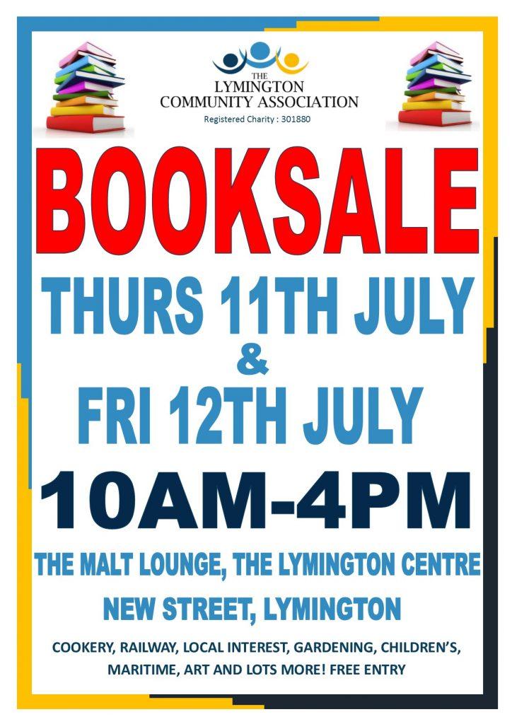 Booksale @ The Malt Lounge, The Lymington Centre   England   United Kingdom